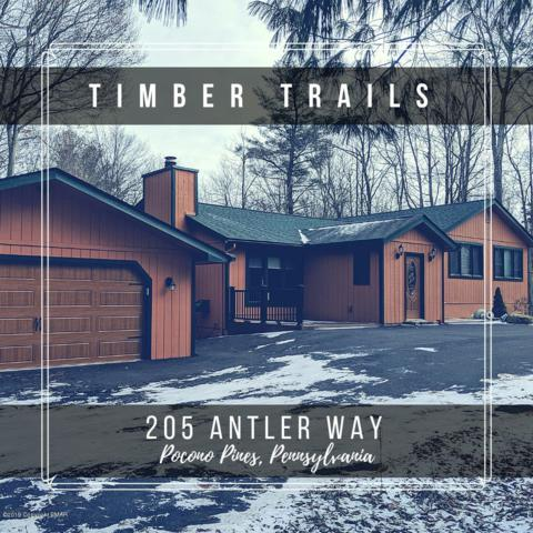 205 Antler Way, Pocono Pines, PA 18350 (MLS #PM-65713) :: Keller Williams Real Estate