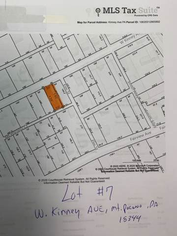 Lot 7 W Kinney Ave, Mount Pocono, PA 18344 (MLS #PM-75346) :: Kelly Realty Group