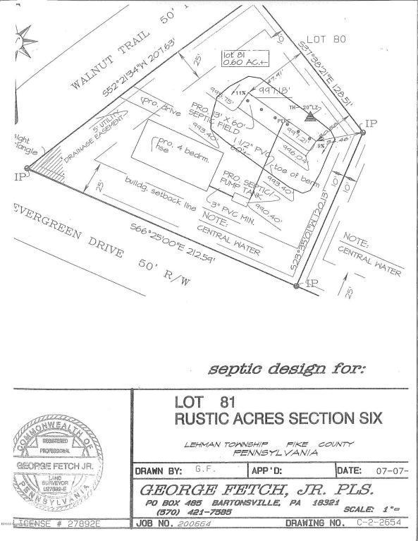 81 & 82A Evergreen Drive, Bushkill, PA 18324 (MLS #PM-59635) :: RE/MAX of the Poconos