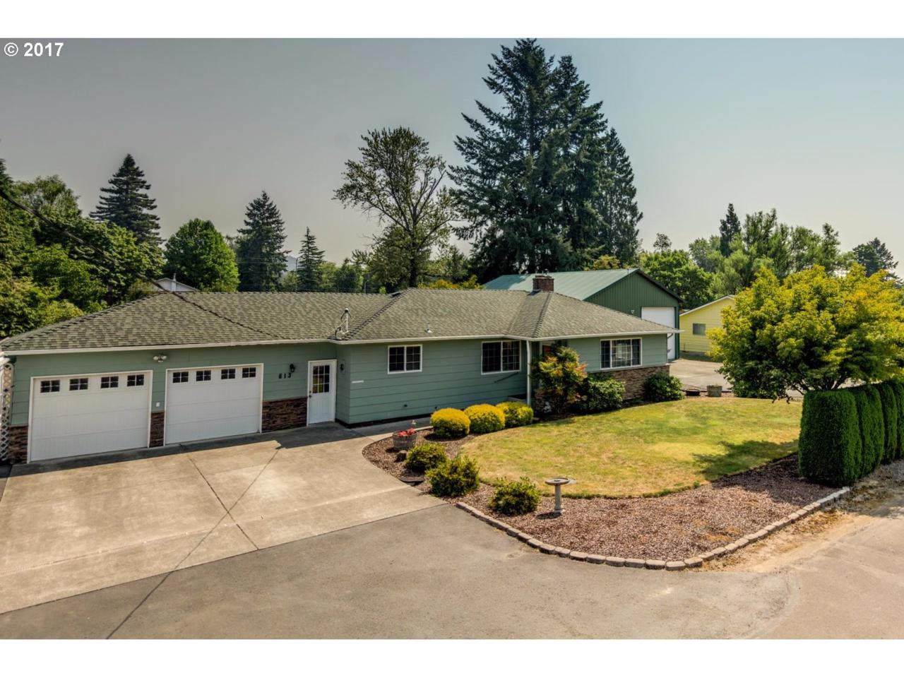 813 NW 2ND Ave, Battle Ground, WA 98604 (MLS #17377769) :: The Dale Chumbley Group