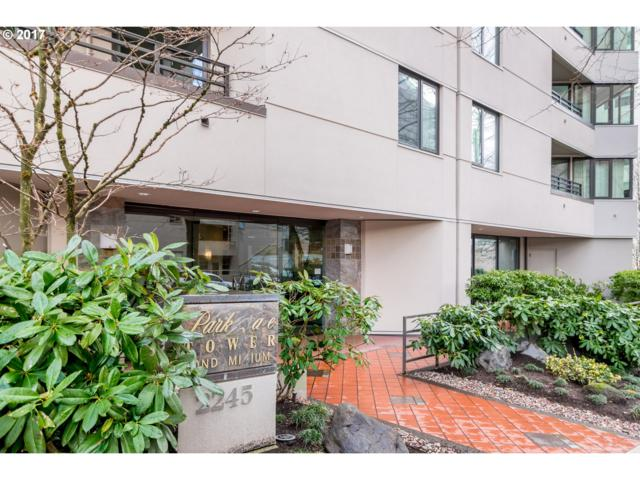 2245 SW Park Pl 6C, Portland, OR 97205 (MLS #17027851) :: Next Home Realty Connection