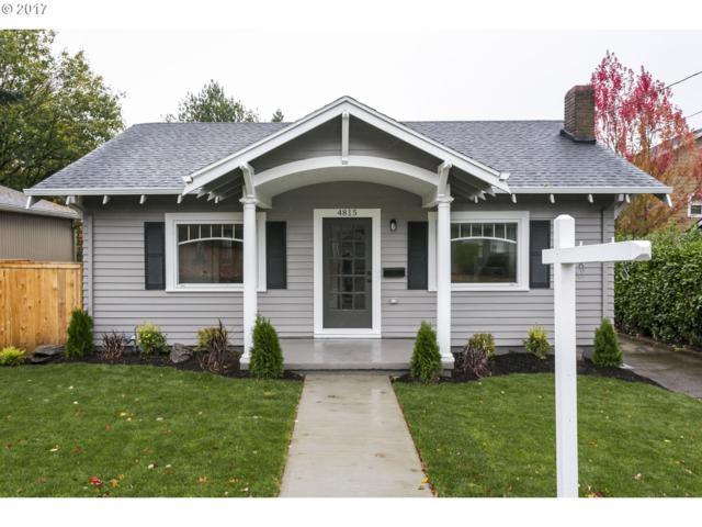 4815 SE Cesar E Chavez Blvd, Portland, OR 97202 (MLS #17037455) :: Hatch Homes Group