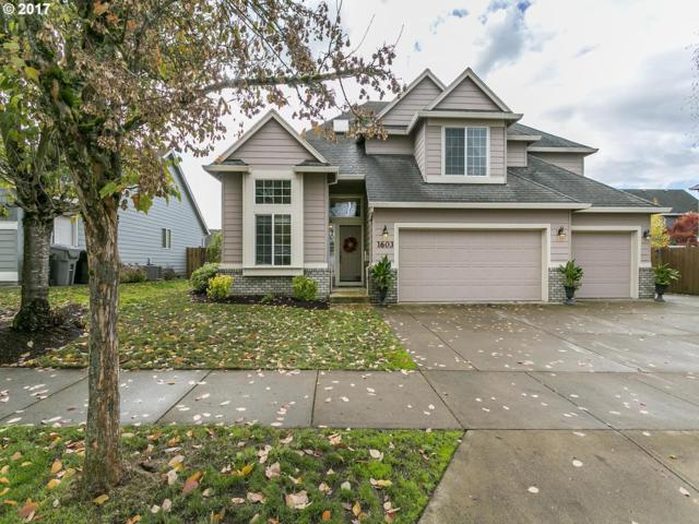 1603 SE 10TH Pl, Canby, OR 97013 (MLS #17210071) :: Fox Real Estate Group