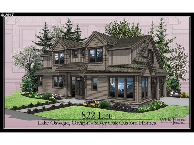822 Lee St, Lake Oswego, OR 97035 (MLS #17554731) :: Fox Real Estate Group
