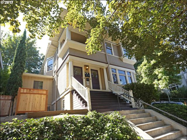 1536 SW Montgomery St, Portland, OR 97201 (MLS #17658111) :: The Reger Group at Keller Williams Realty