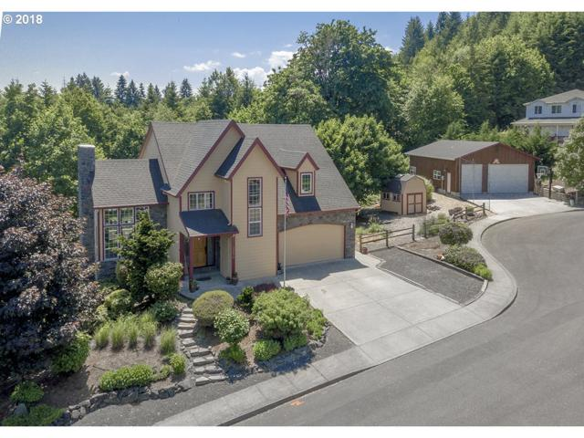 32870 NW View Terrace Pl, Scappoose, OR 97056 (MLS #18005232) :: Team Zebrowski