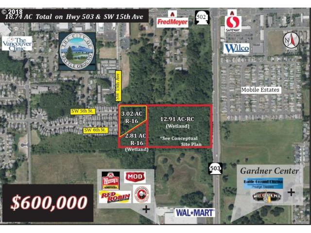 0 SW 15th Ave, Battle Ground, WA 98604 (MLS #18014935) :: McKillion Real Estate Group