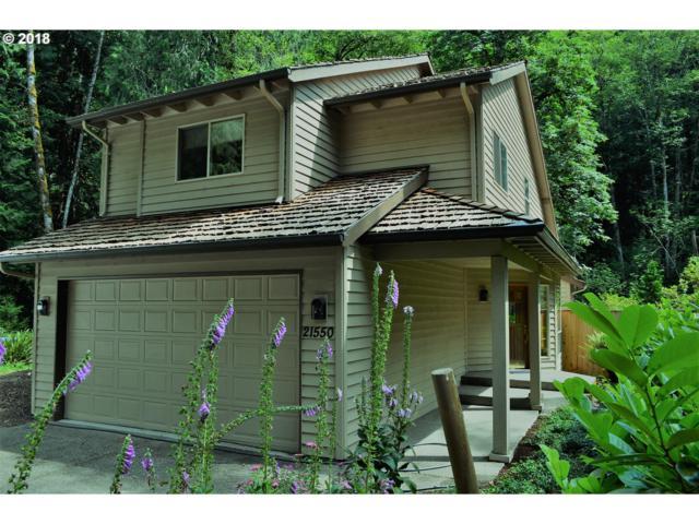 21550 E Hackett Creek Ct, Rhododendron, OR 97049 (MLS #18024334) :: R&R Properties of Eugene LLC