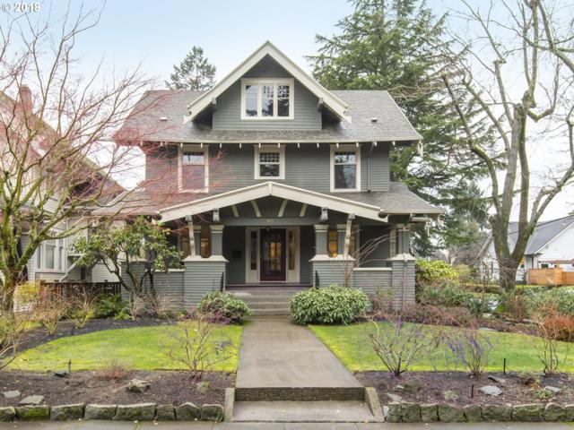 3933 NE 32ND Pl, Portland, OR 97212 (MLS #18039734) :: The Sadle Home Selling Team