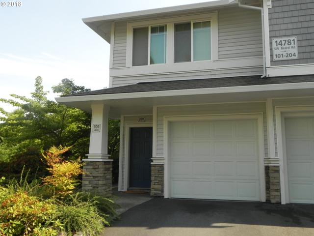 14781 SW Beard Rd #201, Beaverton, OR 97007 (MLS #18062548) :: Next Home Realty Connection