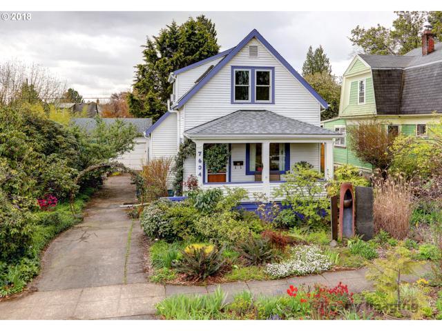 7634 SE Alder St, Portland, OR 97215 (MLS #18068917) :: Hatch Homes Group