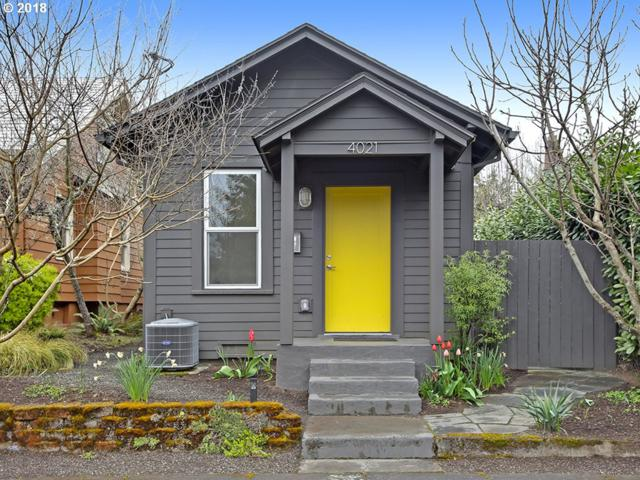4021 SE Ramona St, Portland, OR 97202 (MLS #18123410) :: Hatch Homes Group