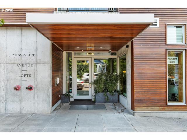 4216 N Mississippi Ave #211, Portland, OR 97217 (MLS #18125289) :: Harpole Homes Oregon
