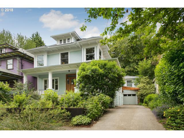 1525 SE 33RD Ave, Portland, OR 97214 (MLS #18126559) :: Hatch Homes Group