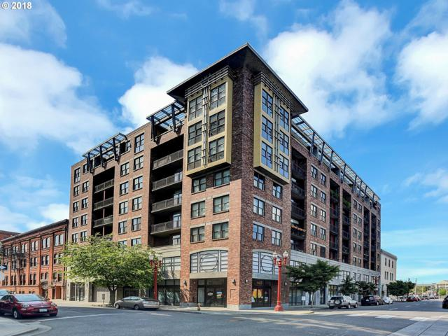 411 NW Flanders St #611, Portland, OR 97209 (MLS #18127342) :: Townsend Jarvis Group Real Estate