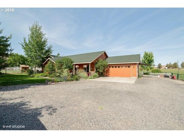 211 NE Wilcox Ave, Terrebonne, OR 97760 (MLS #18164887) :: Hatch Homes Group