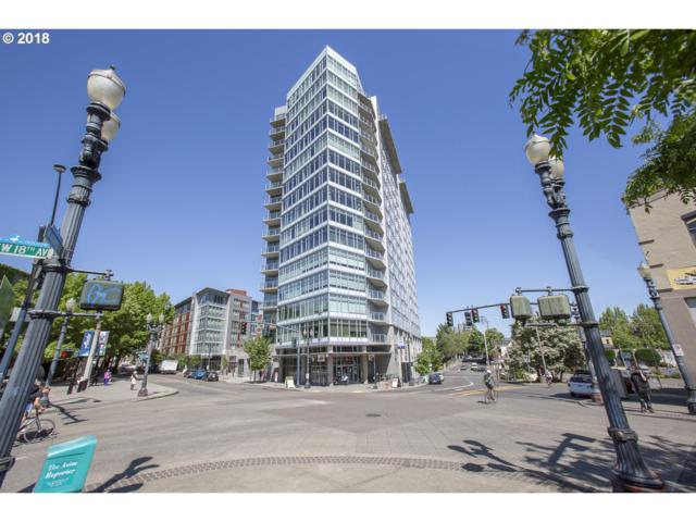 1926 W Burnside St #1106, Portland, OR 97209 (MLS #18166011) :: Portland Lifestyle Team