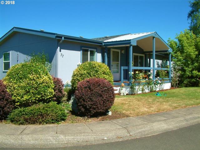 700 N Mill St #77, Creswell, OR 97426 (MLS #18166087) :: R&R Properties of Eugene LLC