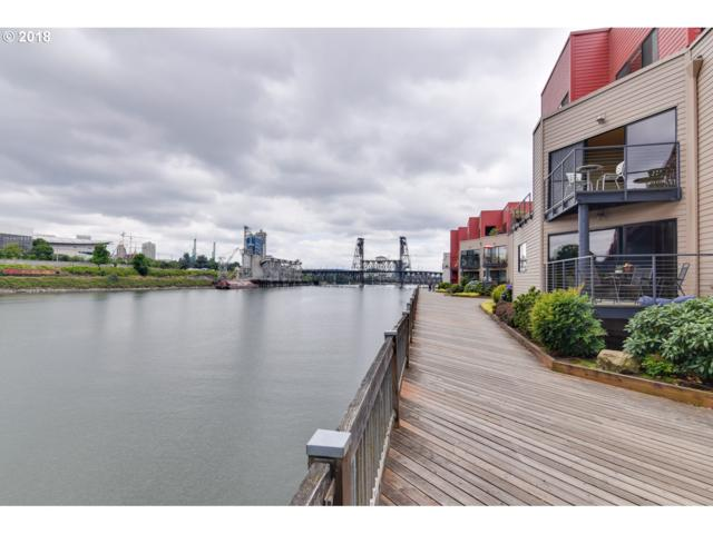 1020 NW Naito Pkwy N-10, Portland, OR 97209 (MLS #18179785) :: Song Real Estate