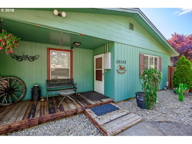28508 Liberty Rd, Sweet Home, OR 97386 (MLS #18187870) :: Portland Lifestyle Team