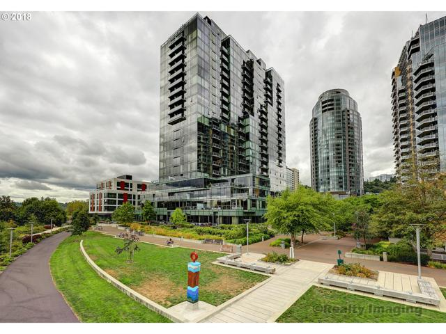 841 SW Gaines St #802, Portland, OR 97239 (MLS #18196206) :: McKillion Real Estate Group
