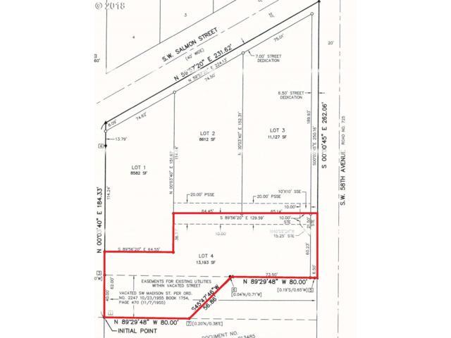 5900 SW Salmon St #4, Portland, OR 97221 (MLS #18197492) :: Realty Edge
