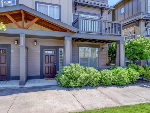 1020 SW 170TH Ave #100, Beaverton, OR 97003 (MLS #18203840) :: The Sadle Home Selling Team