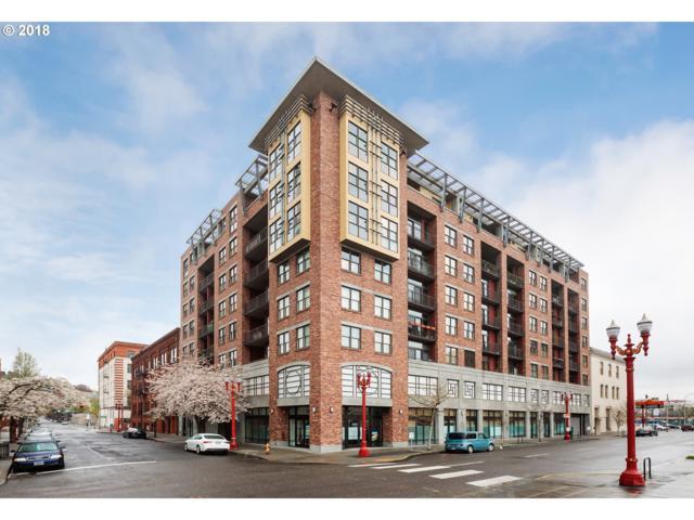 411 NW Flanders St #706, Portland, OR 97209 (MLS #18210070) :: Hatch Homes Group