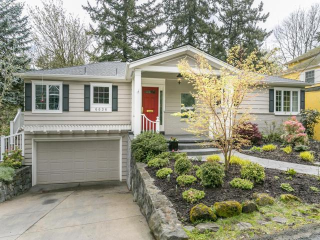 6636 SW Burlingame Ave, Portland, OR 97239 (MLS #18263762) :: The Dale Chumbley Group