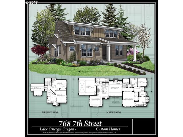768 7TH St, Lake Oswego, OR 97034 (MLS #18282425) :: Hillshire Realty Group