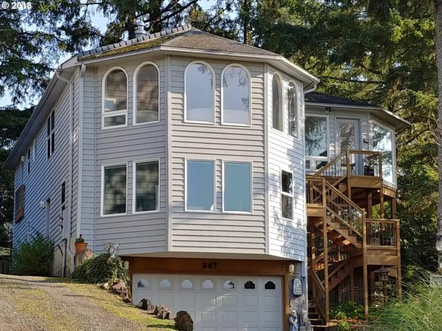 547 Antler Rd, Cannon Beach, OR 97110 (MLS #18392844) :: The Liu Group