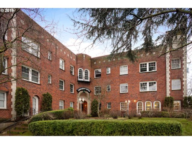 711 NE Randall Ave #106, Portland, OR 97232 (MLS #18411622) :: Next Home Realty Connection