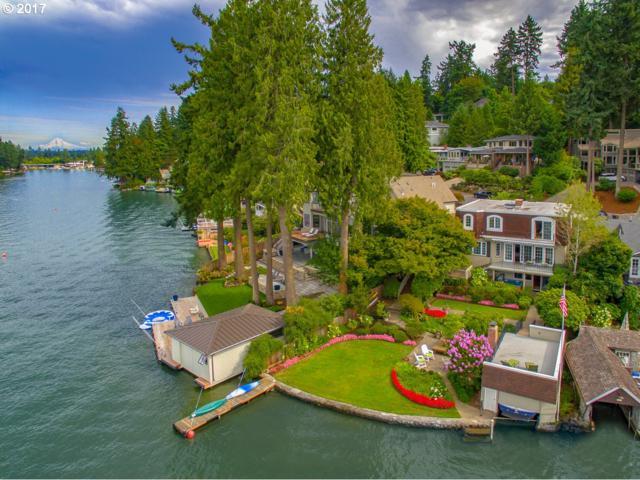 1657 Lake Front Rd, Lake Oswego, OR 97034 (MLS #18416172) :: Team Zebrowski