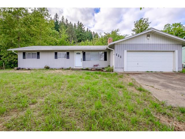 403 Kay Ave, Brownsville, OR 97327 (MLS #18421055) :: Keller Williams Realty Umpqua Valley