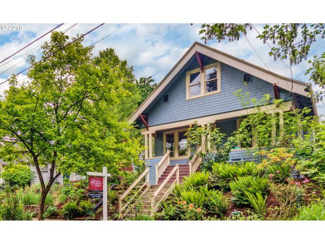 3322 SE Brooklyn St, Portland, OR 97202 (MLS #18428244) :: Hatch Homes Group