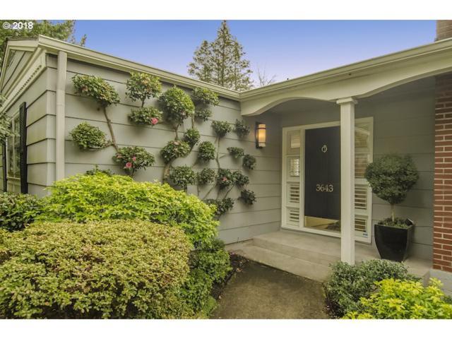 3643 SW 52ND Pl, Portland, OR 97221 (MLS #18522179) :: Hatch Homes Group