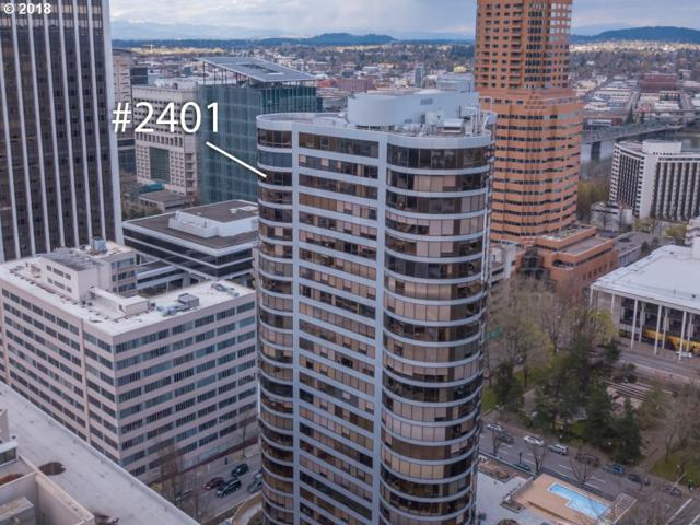 1500 SW 5TH Ave #2401, Portland, OR 97201 (MLS #18524410) :: Song Real Estate