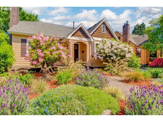 7414 SE 17TH Ave, Portland, OR 97202 (MLS #18538819) :: Harpole Homes Oregon