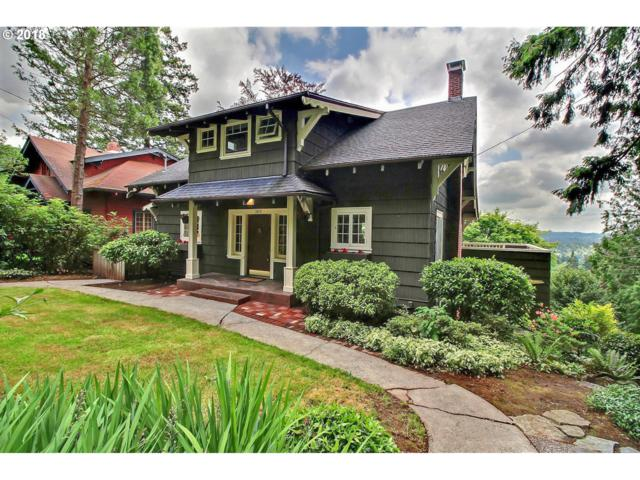 3820 SW Hillside Dr, Portland, OR 97221 (MLS #18559522) :: The Sadle Home Selling Team