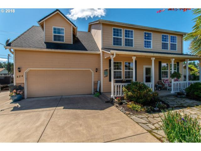 424 Bluejay Loop, Creswell, OR 97426 (MLS #18568032) :: Song Real Estate