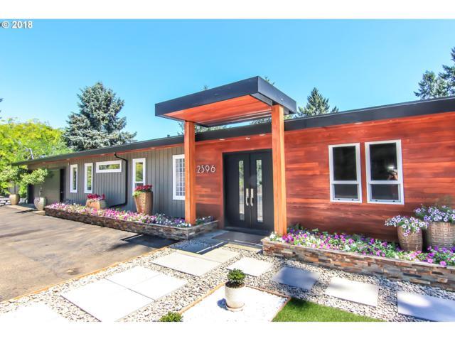 2596 Hillcrest Dr, West Linn, OR 97068 (MLS #18620369) :: Matin Real Estate