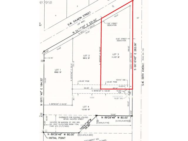 5900 SW Salmon St #3, Portland, OR 97221 (MLS #18636154) :: Realty Edge