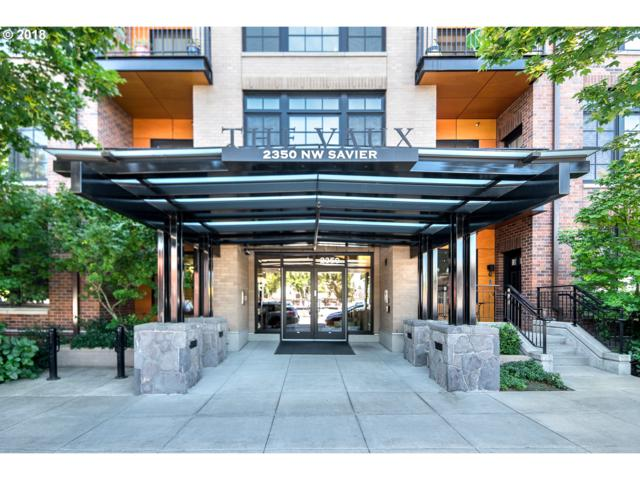 2350 NW Savier St #106, Portland, OR 97210 (MLS #18681104) :: The Dale Chumbley Group