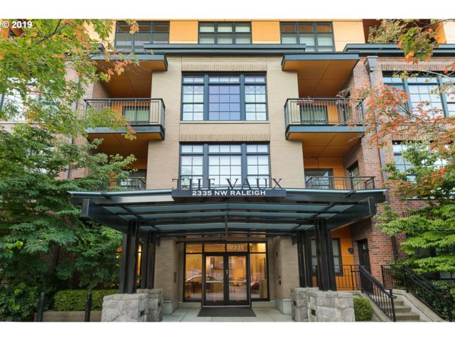 2335 NW Raleigh St #101, Portland, OR 97210 (MLS #19034252) :: TK Real Estate Group