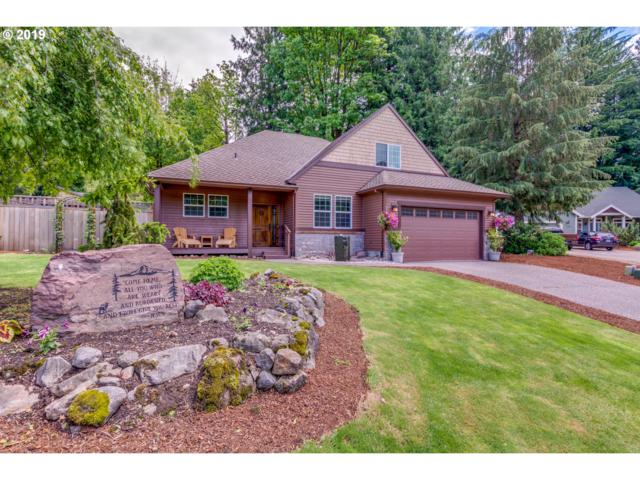24940 E Mckenzie Valley Ct, Welches, OR 97067 (MLS #19137858) :: Gregory Home Team | Keller Williams Realty Mid-Willamette