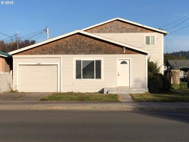 160 N 8TH St, Lakeside, OR 97449 (MLS #19152406) :: Fox Real Estate Group