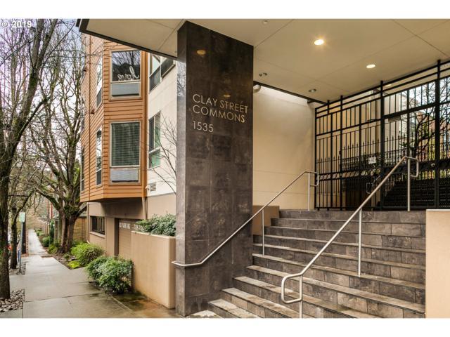 1535 SW Clay St #233, Portland, OR 97201 (MLS #19168143) :: R&R Properties of Eugene LLC