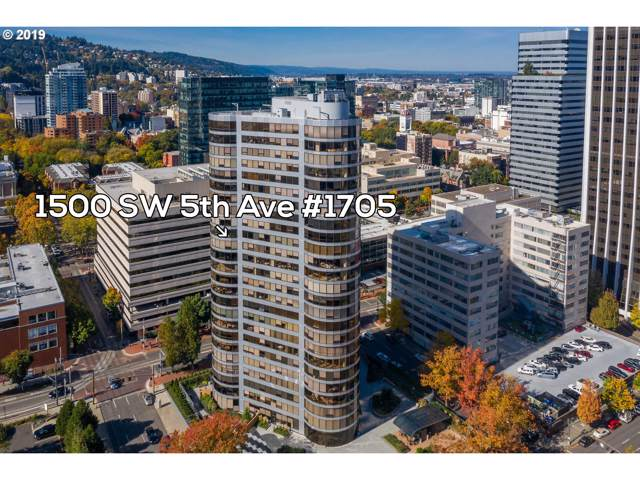 1500 SW 5TH Ave #1705, Portland, OR 97201 (MLS #19205662) :: Gustavo Group