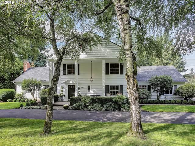 2201 Hillside Dr, Lake Oswego, OR 97034 (MLS #19224408) :: McKillion Real Estate Group