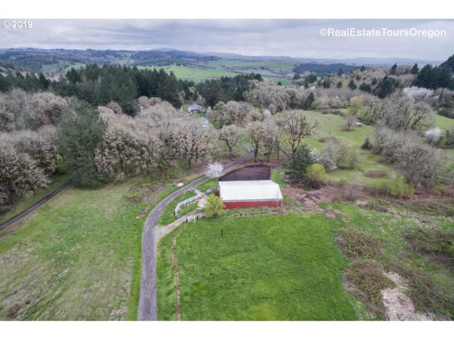 24770 NW Mount Richmond Rd, Yamhill, OR 97148 (MLS #19326619) :: Townsend Jarvis Group Real Estate